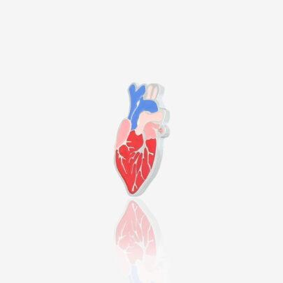 """Pin """"Real Heart"""""""