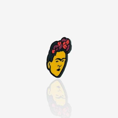 Pins ręcznie malowana Frida Kahlo meksykańska malarka twórcza z jedną brwią od producenta Pinswear