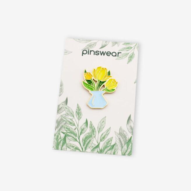 Pin tulipany w wazonie