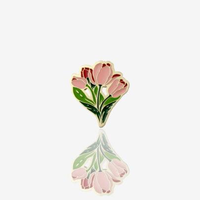 Pins tulipany